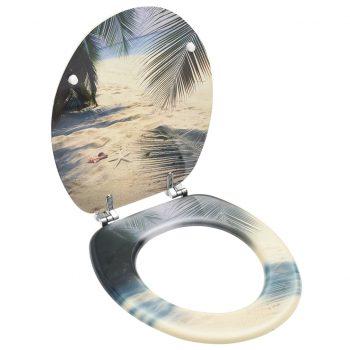 Deska za WC školjko MDF dizajn plaže