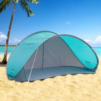 HI Pop-up šotor za na plažo moder