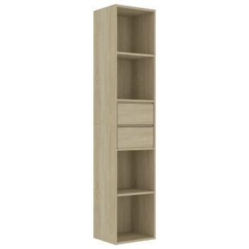Knjižna omara sonoma hrast 36x30x171 cm iverna plošča