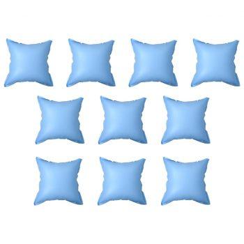 Napihljive zimske blazine za dvig pokrivala bazena 10 kosov PVC