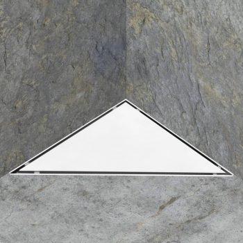 Odtok za tuš z 2 v 1 pokrovom 25x25 cm nerjaveče jeklo