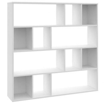 Paravan/omara bela 110x24x110 cm iverna plošča