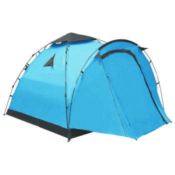 Pop up šotor za kampiranje za 3 osebe moder