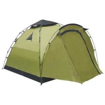 Pop up šotor za kampiranje za 3 osebe zelen