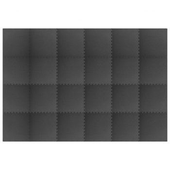 64 ㎡ EVA pena črne barve