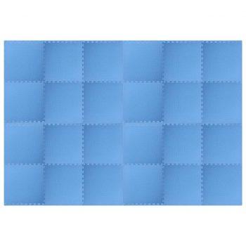 64 ㎡ EVA pena modre barve