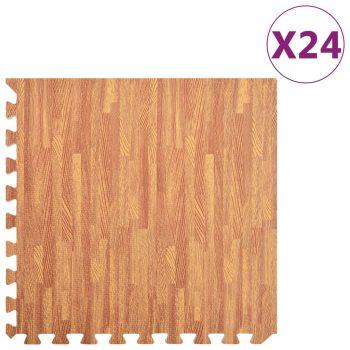 Talne podloge 24 kosov vzorec lesa 8