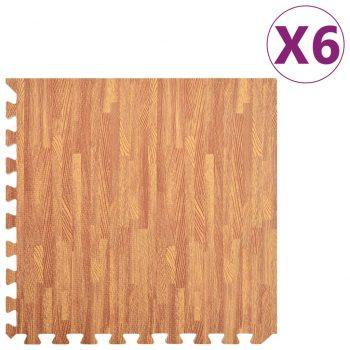 Talne podloge 6 kosov vzorec lesa 2