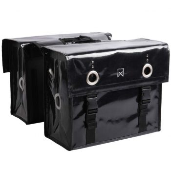 Willex Kolesarska torba 52 L črna