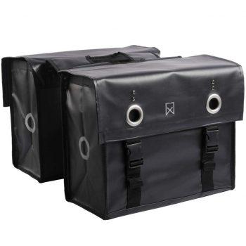 Willex Kolesarska torba 52 L mat črna