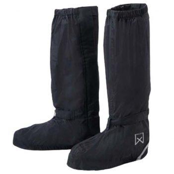 Willex Kolesarski nadčevlji visoki 44-48 cm črni 29428