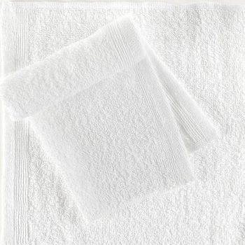 Brisače za goste 25 kosov bombaž 350 gsm 30x30 cm bele