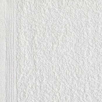 Brisače za goste 50 kosov bombaž 350 gsm 30x30 cm bele