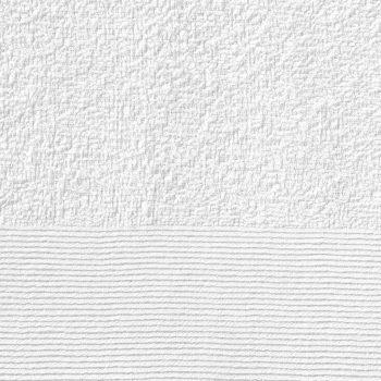 Brisače za roke 10 kosov bombaž 350 gsm 50x100 cm bele