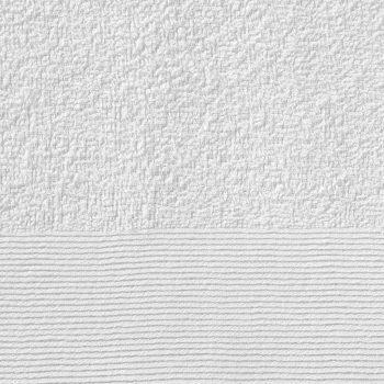 Brisače za tuširanje 25 kosov bombaž 350 gsm 70x140 cm bele