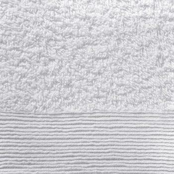 Komplet brisač iz bombaža 12-delni 450 gsm bele barve