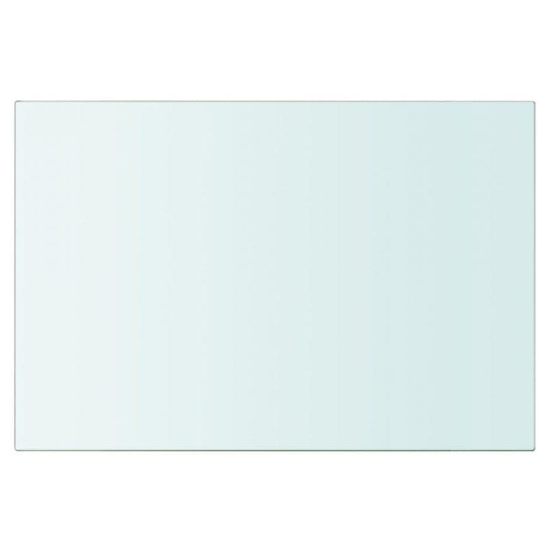 Police 2 kosa steklo prosojno 20x25 cm