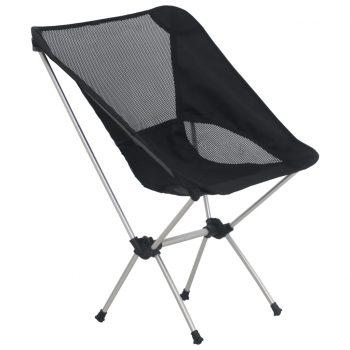 Zložljivi stoli za kampiranje 2 kosa 54x50x65 cm aluminij