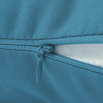 Zunanje blazine 2 kosa 60x60 cm svetlo modre