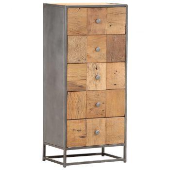 Predalnik 45x30x100 cm iz trdnega predelanega lesa