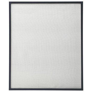 Komarnik za okna antraciten 80x100 cm