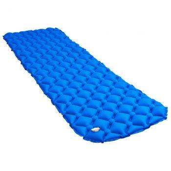 Napihljiva vzmetnica 58x190 cm modra