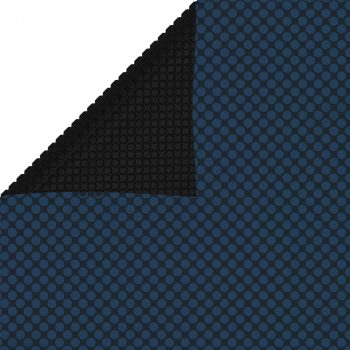 Plavajoča PE solarna folija za bazen 1000x600 cm črna in modra